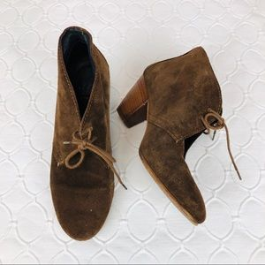 Madewell 1937 Brown Ankle Boots Sz 6.5